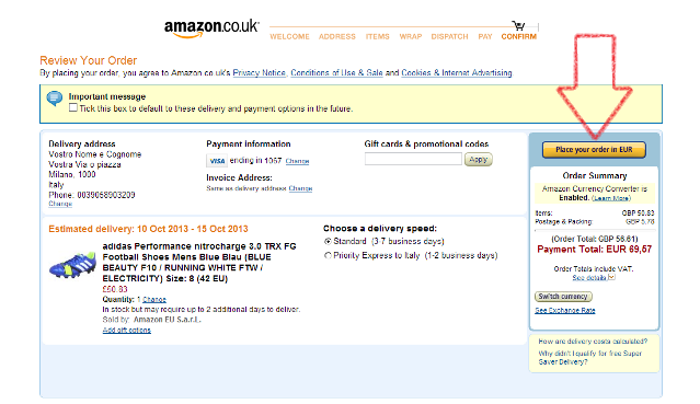 come acquistare su amazon